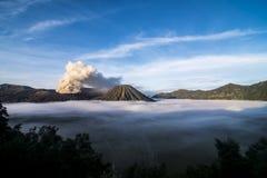MT Bromo印度尼西亚 库存图片