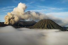 MT Bromo印度尼西亚 库存照片