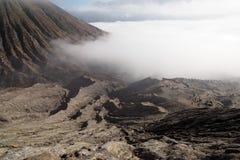 Mt Bromo-Ansicht Lizenzfreie Stockfotos