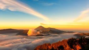 Mt Bromo Indonesien Fotografering för Bildbyråer