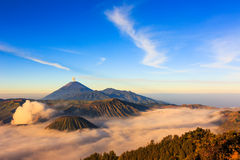 Mt Bromo Indonesien Royaltyfri Bild