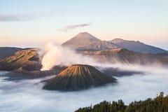 Mt Bromo, parc national de Tengger Semeru, Java-Orientale, Indonésie Image libre de droits