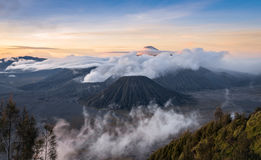 Mt.Bromo. Sunrise of Mt.Bromo at Indonesia Stock Photography