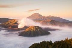 Mt.Bromo. Tengger Semeru National Park, East Java, Indonesia Royalty Free Stock Photo