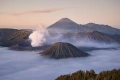 Mt Bromo, Tengger Semeru park narodowy, Wschodni Jawa, Indonezja Fotografia Royalty Free