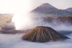 Mt Bromo, Tengger Semeru park narodowy, Wschodni Jawa, Indonezja Obrazy Royalty Free