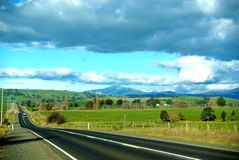 Mt Buller from Mansfield Royalty Free Stock Photo