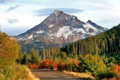 Mt. Capa na queda Imagens de Stock Royalty Free