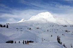 Mt. Capa no inverno. Imagem de Stock Royalty Free