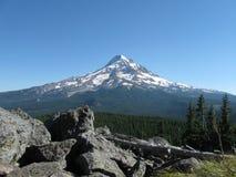 Mt. Capot avec des roches Photos libres de droits