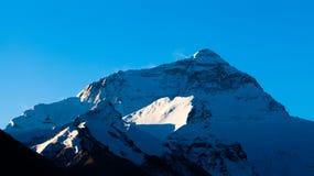 Mt. Chomolungma na manhã Imagem de Stock Royalty Free