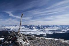 Mt Chwała, Teton Przepustka. Obraz Royalty Free