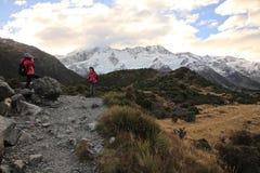 Mt Cocinero, isla del sur Nueva Zelanda fotos de archivo