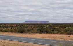 Mt Connor, Australien Stockbilder