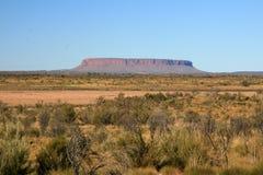 Mt Connor, Australien lizenzfreie stockfotografie
