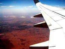 Mt Connor von der Luft Stockfotografie