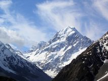 Mt. Cook. In New Zealand stock images