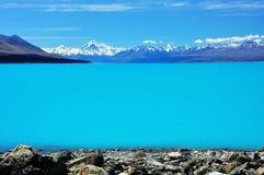 Free Mt Cook And Lake Pukaki Stock Photos - 8938713