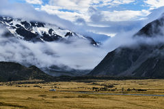 Mt. Cook, the landmark and most famous place in NZ Royalty Free Stock Images