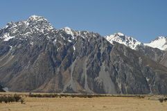 Mt. Cook Stock Photography