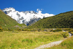 Mt. Cook national park Stock Photo