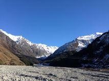 Mt Cook. National park New Zealand Royalty Free Stock Photography