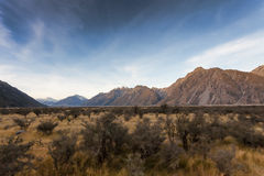 Mt. Cook national park Stock Images