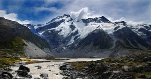 Mt.Cook Nationalpark Lizenzfreies Stockbild