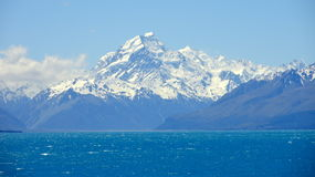 MT Cook, Nieuw Zeeland Stock Afbeelding