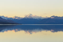 MT Cook Panorama Stock Afbeelding