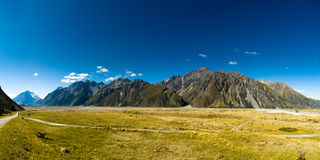 Mt. Cook Panorama Royalty Free Stock Image
