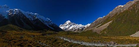 Mt Cook Panorama Stock Photos