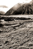 Mt. Cook Range Royalty Free Stock Photography