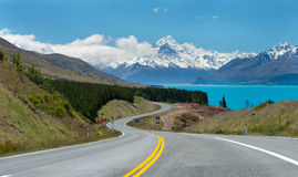 Mt.cook South Island New Zealand Stock Images