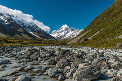 Mt.cook South Island New Zealand Royalty Free Stock Photo