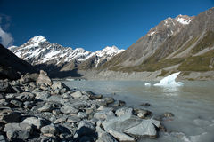 Mt.cook South Island New Zealand Stock Photography
