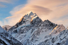 Mt. Cook, South Island, New Zealand Stock Images