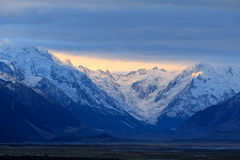 Mt. Cook,South Island New Zealand. Stock Photos