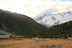 Mt. Cook,South Island New Zealand. Stock Photo