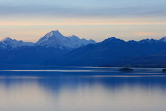 Mt Cook Sunset Stock Photography