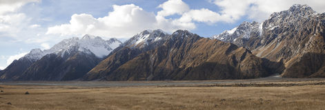 Mt Cook valleys New Zealand Royalty Free Stock Photography