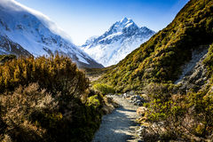 Mt Cook view Royalty Free Stock Photography