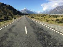 Mt Cook widzieć od drogi Obrazy Stock
