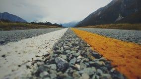 Mt Cook& x27; valle di s Fotografie Stock