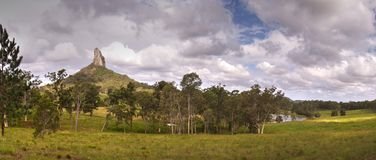 Mt Coonowrin Glasshouse Mountains royalty free stock photography
