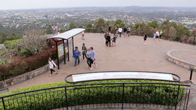 Mt Cootha 2 stock footage