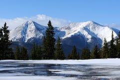 Picos rocosos Imagen de archivo