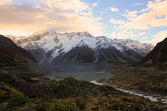 Mt Cozinheiro, ilha sul Nova Zelândia Fotografia de Stock Royalty Free