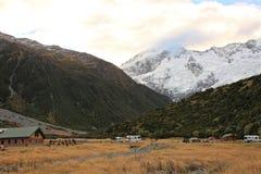 Mt Cozinheiro, ilha sul Nova Zelândia foto de stock