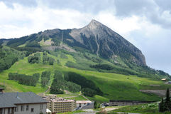 Mt. Crested Butte Stock Photo